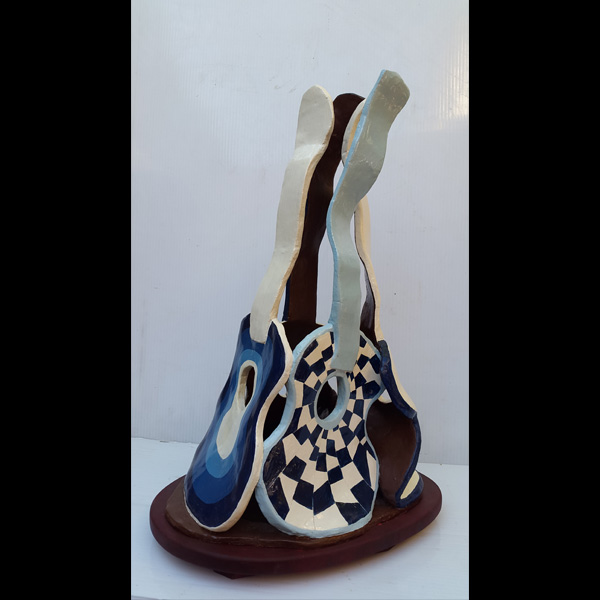 Cuatro guitarras ermín Hache cerámica