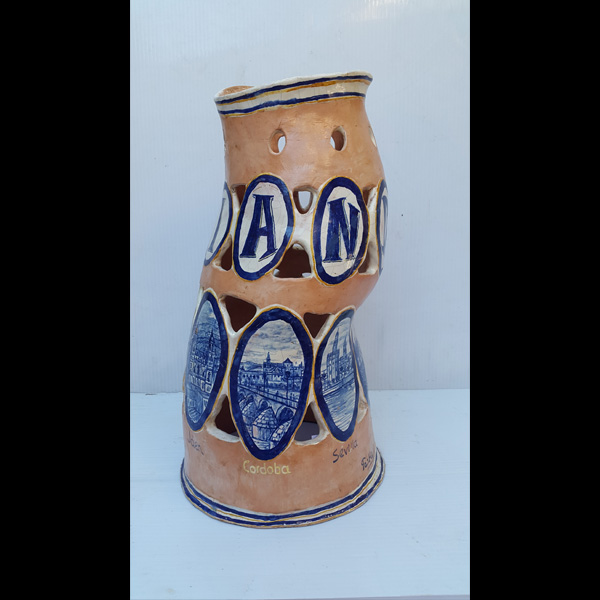 Jarrón Andalucía Fermín Hache cerámica