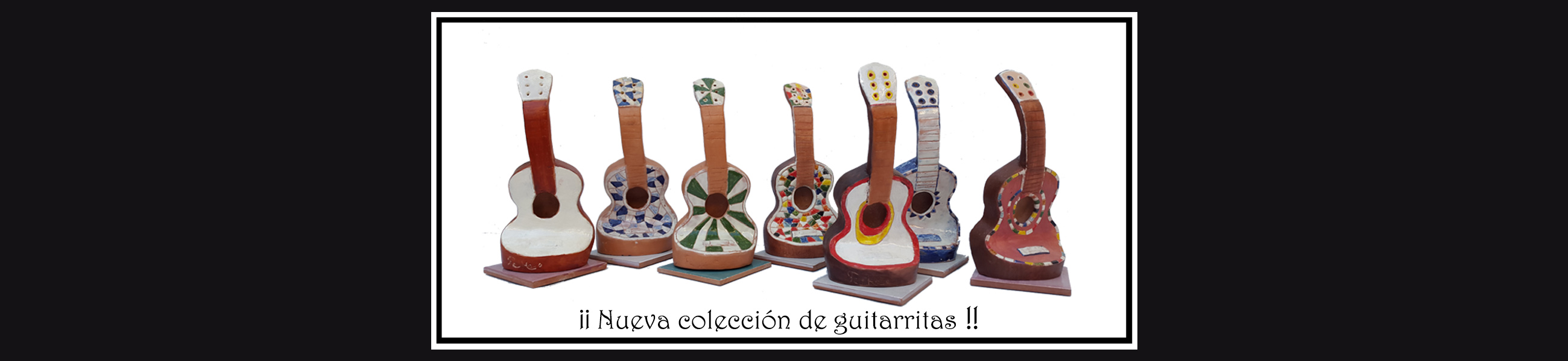 Fermin Hache coleccion guitarritas