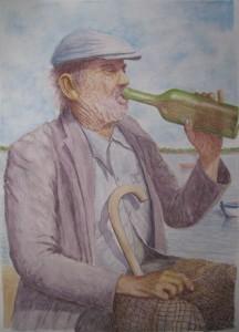 borracho-acuarela-Fermín-Hache